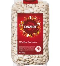 Davert Weiße Bohnen, 500 gr Packung