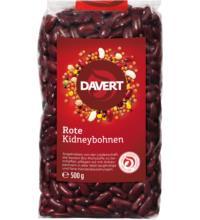 Davert Rote Kidneybohnen, 500 gr Packung