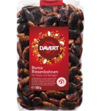 Davert Bunte Riesenbohnen, 500 gr Packung  IBD Fair Trade