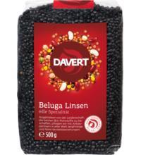 Davert Linsen Beluga schwarz, 500 gr Packung