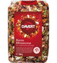Davert Bunte Minestrone Basis-Mix für Eintöpfe, 500 gr Beutel