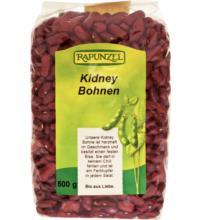 Rapunzel Rote Kidney Bohnen, 500 gr Packung