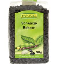 Rapunzel Schwarze Bohnen, 500 gr Packung