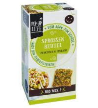 PepUpLife Sprossen-Mix 2, 4x 20 gr Packung