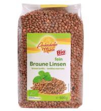 Antersdorfer Mühle Braune Linsen, 500 gr Packung