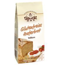 Bauck Hof Haferbrot glutenfrei, 500 gr Packung -Vollkorn-