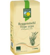 Bohlsener Roggenmehl Type 1150, 1 kg Packung