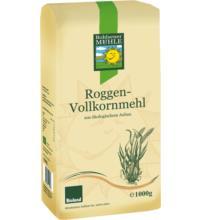 Bohlsener Roggenvollkornmehl, 1 kg Packung