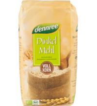 dennree Dinkelvollkornmehl, Deutschland/Österreich, 1 kg Packung