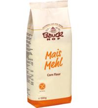 Bauck Hof Maismehl Demeter, 500 gr Packung -glutenfrei-