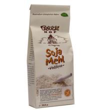 Bauck Hof Sojamehl, vollfett, 350 gr Packung -glutenfrei-