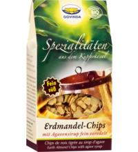 Govinda Erdmandel-Chips, 100 gr Packung