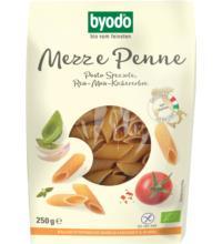 byodo Mezze Penne Reis-Mais-Kicherbse, 250 gr Packung