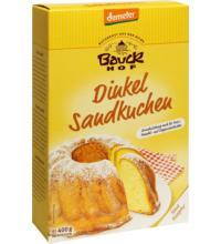 Bauck Hof Dinkel Sandkuchen, 400 gr Packung