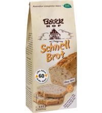 Bauck Hof Schnellbrot, 500 gr Packung -glutenfrei-