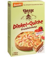 Bauck Hof Dinkel-Quiche Backmischung, 400 gr Packung