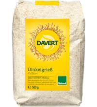 Davert Dinkelgrieß, 500 gr Packung