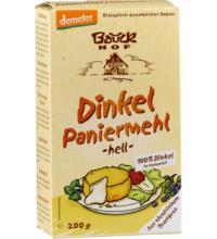 Bauck Hof Dinkel Paniermehl Semmelbrösel, 200 gr Packung
