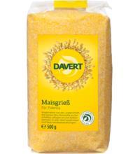 Davert Maisgrieß-Polenta demeter, 500 gr Packung