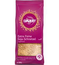 Davert Extra Feine Soja-Schnetzel, 200 gr Packung