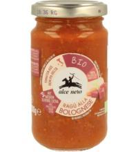 Alce Nero Tomatensauce Bolognese, 200 gr Glas