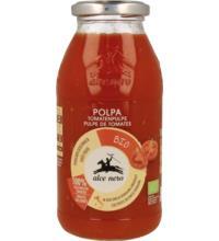 Alce Nero Tomatenpulpe, 500 gr Glas