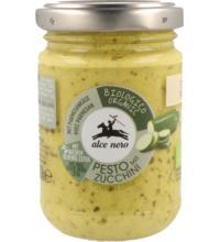Alce Nero Pesto Zucchini, 130 gr Glas