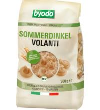 byodo Volanti Sommerdinkel semola, 500 gr Packung -hell-