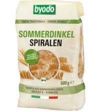 byodo Spiralen Sommerdinkel, 500 gr Packung