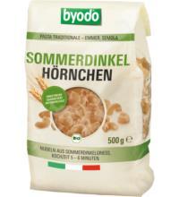 byodo Hörnchen Sommerdinkel, 500 gr Packung