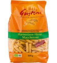 Gustoni Hirse-Maccheroni, bronze, 500 gr Packung -hell-