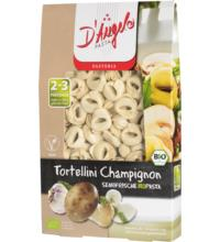 D'Angelo Tortellini mit Champignon- Füllung, 250 gr Packung