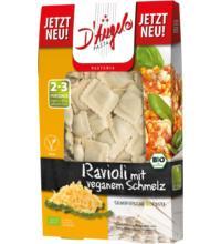 D'Angelo Ravioli mit veganer Schmelz- Füllung, 250 gr Packung