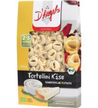 DAngelo Tortellini mit Käse-Füllung, 250 gr Packung