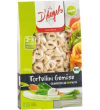 D'Angelo Tortellini mit Gemüse-Füllung, 250 gr Packung