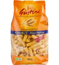 Gustoni Kamut®-Maccheroni, bronze, 500 gr Packung -hell-
