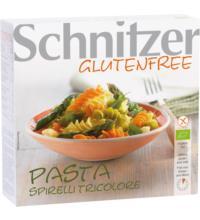 Schnitzer Mais-Spirelli Tricolore, 200 gr Packung -glutenfrei-