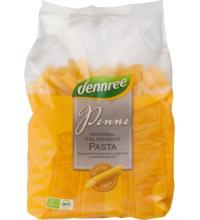 dennree Mais-Reis-Penne, 500 gr Packung -glutenfrei-
