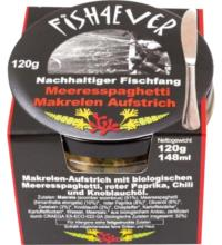 Fish For Ever Meeresspaghetti Makrelen-Creme, 120 gr Glas
