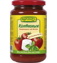 Rapunzel Tomaten-Ricotta Sauce, 345 ml Glas