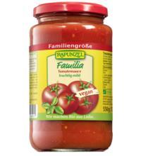 Rapunzel Tomatensauce Familia, 525 ml Glas