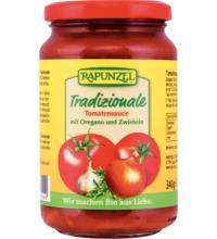 Rapunzel Tomatensauce Tradizionale, 335 ml Glas