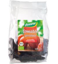 dennree Tomaten, getrocknet, mit Meersalz, Türkei, 100 gr Packung