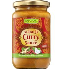 Rapunzel Curry-Sauce scharf, 350 ml Glas