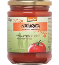 Naturata Tomatenpüree, 400 gr Glas