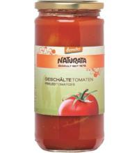 Naturata Tomaten geschält, in Tomatensaft, 660 gr Glas