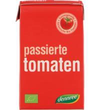 dennree Passierte Tomaten, im Tetrapack, 500 gr