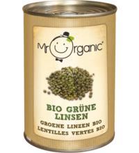 Mr. Organic Grüne Linsen, 400 gr Dose (240gr)