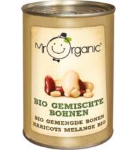 Mr. Organic Gemischte Bohnen, 400 gr Dose (240gr)