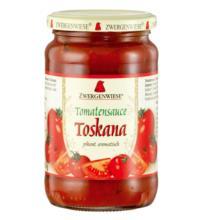 Zwergenwiese Tomatensauce Toskana - pikant aromatisch, 350 gr Glas